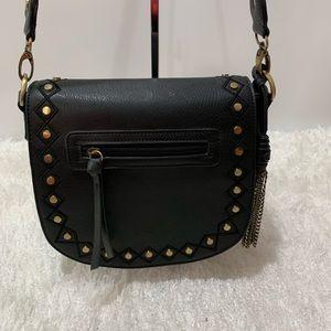 gal Bags - Gal black studded Crossbody/ shoulder bag